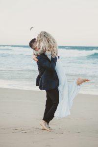 Katie & Raphael- Married xx North Burleigh beach elopement xx  93