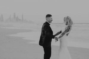 Katie & Raphael- Married xx North Burleigh beach elopement xx  10