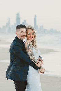 Katie & Raphael- Married xx North Burleigh beach elopement xx  12