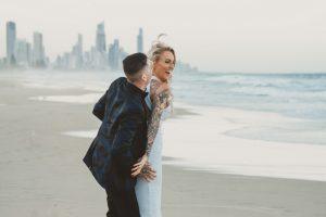 Katie & Raphael- Married xx North Burleigh beach elopement xx  13