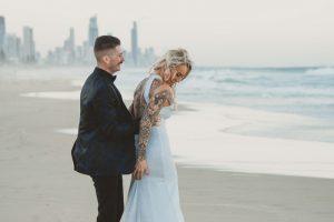 Katie & Raphael- Married xx North Burleigh beach elopement xx  14