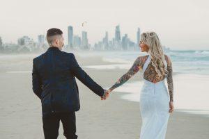Katie & Raphael- Married xx North Burleigh beach elopement xx  15