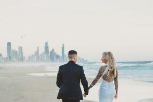 Katie & Raphael- Married xx North Burleigh beach elopement xx  16