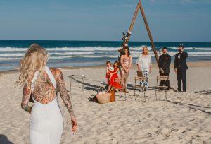 Katie & Raphael- Married xx North Burleigh beach elopement xx  28