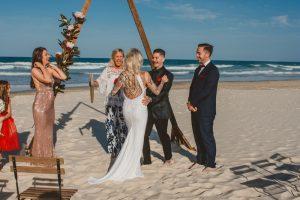 Katie & Raphael- Married xx North Burleigh beach elopement xx  29