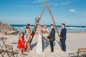 Katie & Raphael- Married xx North Burleigh beach elopement xx  30