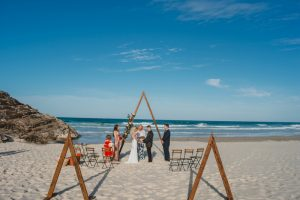 Katie & Raphael- Married xx North Burleigh beach elopement xx  31