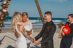 Katie & Raphael- Married xx North Burleigh beach elopement xx  33