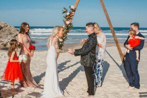 Katie & Raphael- Married xx North Burleigh beach elopement xx  35