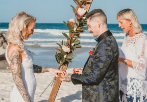 Katie & Raphael- Married xx North Burleigh beach elopement xx  36