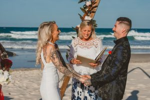 Katie & Raphael- Married xx North Burleigh beach elopement xx  38