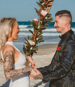 Katie & Raphael- Married xx North Burleigh beach elopement xx  39