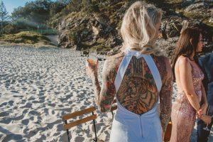 Katie & Raphael- Married xx North Burleigh beach elopement xx  44