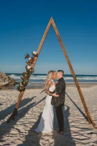 Katie & Raphael- Married xx North Burleigh beach elopement xx  45