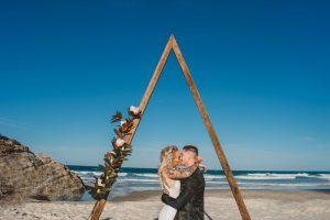 Katie & Raphael- Married xx North Burleigh beach elopement xx  47