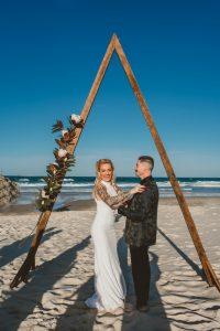 Katie & Raphael- Married xx North Burleigh beach elopement xx  48