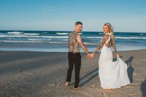 Katie & Raphael- Married xx North Burleigh beach elopement xx  52