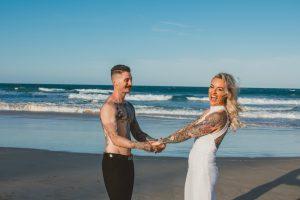 Katie & Raphael- Married xx North Burleigh beach elopement xx  55