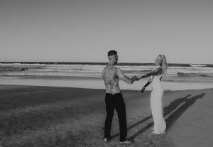 Katie & Raphael- Married xx North Burleigh beach elopement xx  57