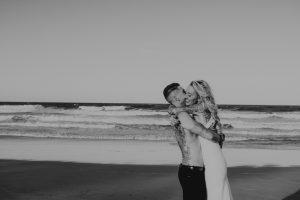 Katie & Raphael- Married xx North Burleigh beach elopement xx  58