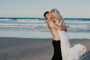Katie & Raphael- Married xx North Burleigh beach elopement xx  59