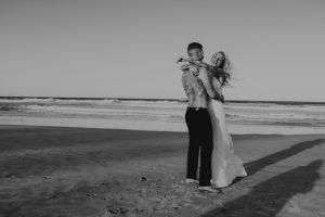 Katie & Raphael- Married xx North Burleigh beach elopement xx  60