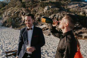Katie & Raphael- Married xx North Burleigh beach elopement xx  62