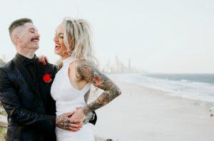 Katie & Raphael- Married xx North Burleigh beach elopement xx  67