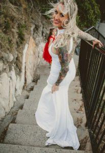 Katie & Raphael- Married xx North Burleigh beach elopement xx  69