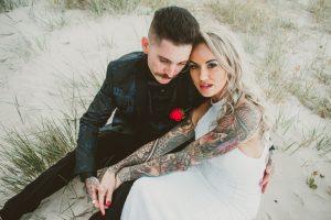Katie & Raphael- Married xx North Burleigh beach elopement xx  70
