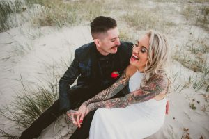 Katie & Raphael- Married xx North Burleigh beach elopement xx  72