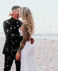 Katie & Raphael- Married xx North Burleigh beach elopement xx  74