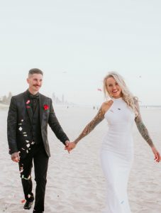 Katie & Raphael- Married xx North Burleigh beach elopement xx  75