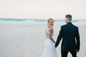 Katie & Raphael- Married xx North Burleigh beach elopement xx  77