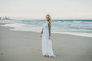 Katie & Raphael- Married xx North Burleigh beach elopement xx  79