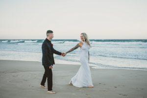 Katie & Raphael- Married xx North Burleigh beach elopement xx  80