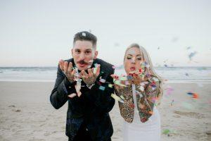 Katie & Raphael- Married xx North Burleigh beach elopement xx  84