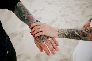 Katie & Raphael- Married xx North Burleigh beach elopement xx  85