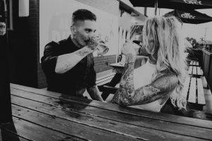 Katie & Raphael- Married xx North Burleigh beach elopement xx  91