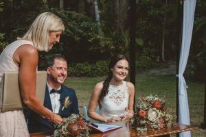 Lisa & Justin- married xx Sol Gardens, Currumbin Valley  90