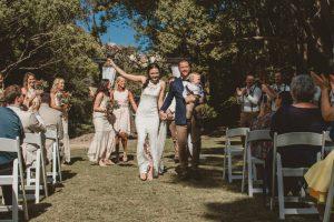 Lisa & Justin- married xx Sol Gardens, Currumbin Valley  91