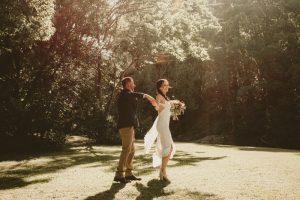 Lisa & Justin- married xx Sol Gardens, Currumbin Valley  99