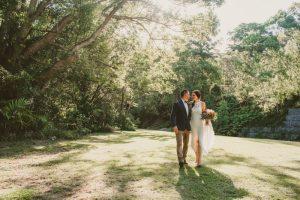 Lisa & Justin- married xx Sol Gardens, Currumbin Valley  101