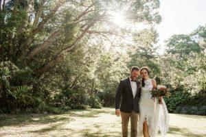 Lisa & Justin- married xx Sol Gardens, Currumbin Valley  102