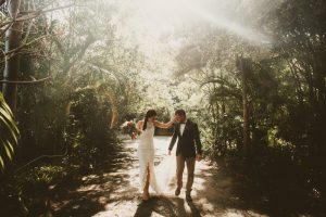 Lisa & Justin- married xx Sol Gardens, Currumbin Valley  105