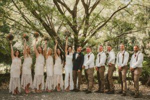 Lisa & Justin- married xx Sol Gardens, Currumbin Valley  107