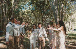 Lisa & Justin- married xx Sol Gardens, Currumbin Valley  119