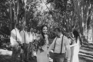 Lisa & Justin- married xx Sol Gardens, Currumbin Valley  121