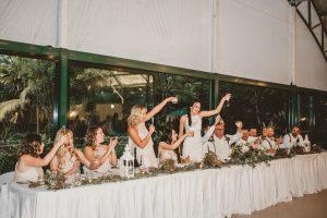 Lisa & Justin- married xx Sol Gardens, Currumbin Valley  145