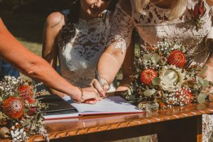 Lisa & Justin- married xx Sol Gardens, Currumbin Valley  211